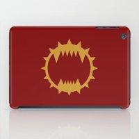 warhammer iPad Cases featuring Warhammer 40k World Eaters Minimalist Print by Milos Cakovan