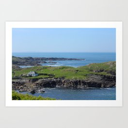 Cottage Downings Donegal Art Print