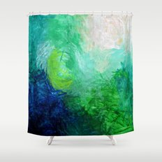 Water No. 1  Shower Curtain