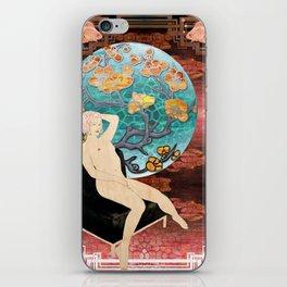 lauren_ver_1 iPhone Skin