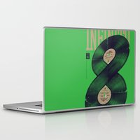 moto Laptop & iPad Skins featuring Moto Perpetuo by Vó Maria