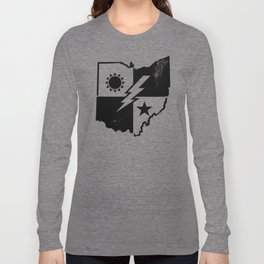 Ohio Born Army Rangers Long Sleeve T-shirt
