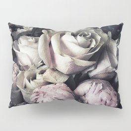 Roses and peonies vintage style Pillow Sham
