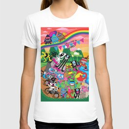 Welcome to Plushism Land T-shirt
