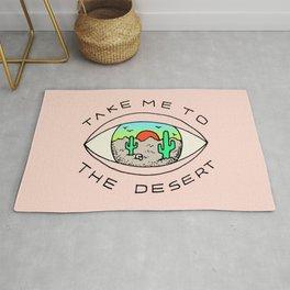 TAKE ME TO THE DESERT Rug