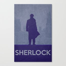 Sherlock 02 Canvas Print