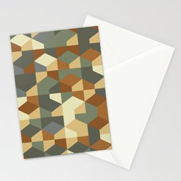 Abstract Geometric Artwork 51 Stationery Cards