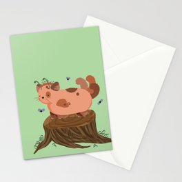 Stump Cat Stationery Cards
