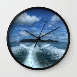 Cruising Wall Clock