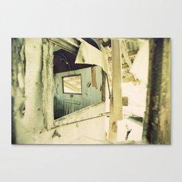 Salton Sea Frames Canvas Print