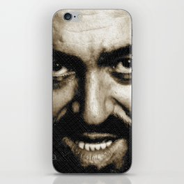 Luciano Pavarotti Italy Gift iPhone Skin