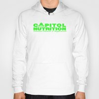 lime green Hoodies featuring Capitol Lime Green by Capitol Nutrition