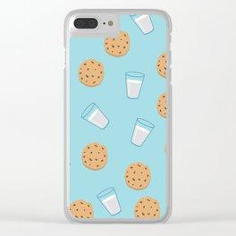 Cookies & milk Clear iPhone Case