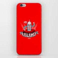 Kablamo! iPhone & iPod Skin