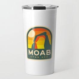 Moab Utah Patch Travel Mug