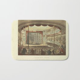 Ackermann's Repository of Arts (1809) - Sadlers Wells Theater Bath Mat