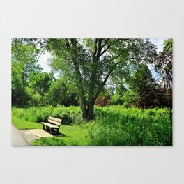 A Time for Silence Canvas Print