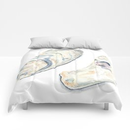 Oyster Shells Comforters