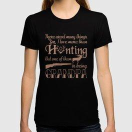 Hunting Grandpa T-shirt