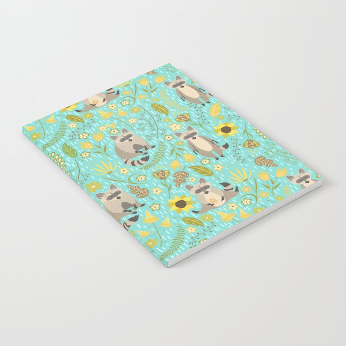 Cute raccoons Notebook