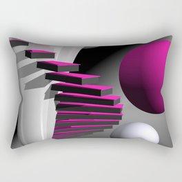 go pink -12- Rectangular Pillow