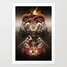 Pyropriest Art Print