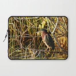 Green Heron Laptop Sleeve