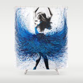Grace Ballerina Shower Curtain