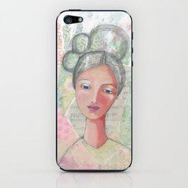Angel of wisdom iPhone Skin