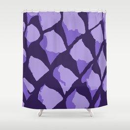 Purple Gumdrops Shower Curtain