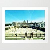 madrid royal palace Art Print