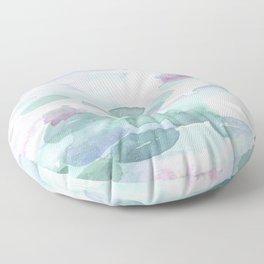 Monet Lily pads Floor Pillow