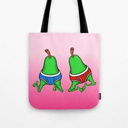 Gay Pear Tote Bag