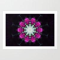 neon Art Prints featuring Neon by IowaShots