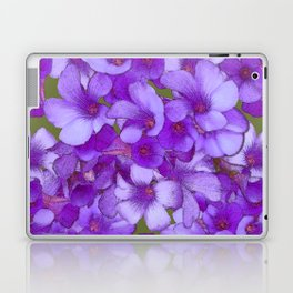 Purple Oxalis Laptop & iPad Skin