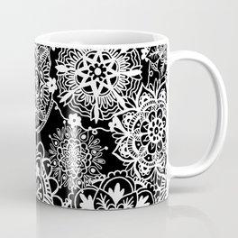 Black and White Mandala Pattern Coffee Mug