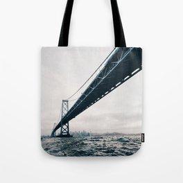 Under the Bay Bridge Tote Bag