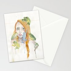 Exodus and the Frog Prince Portrait  Stationery Cards