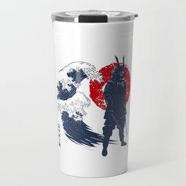 Wave Samurai Travel Mug