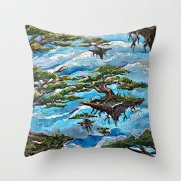 Sail Away Throw Pillow