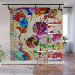 Abstract Expressionism 2 Wall Mural
