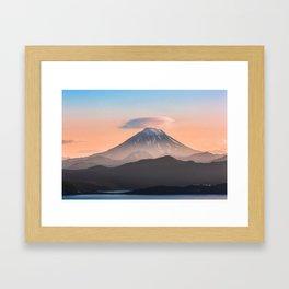 Vilyuchik volcano Framed Art Print