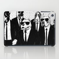 reservoir dogs iPad Cases featuring Reservoir Dogs by Vitrugo