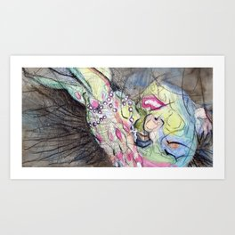 TheRightWay? Art Print