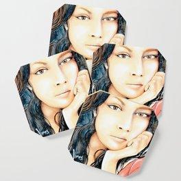 Norah Jones Mural Coaster