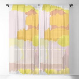 Rayons de Soleil Sheer Curtain