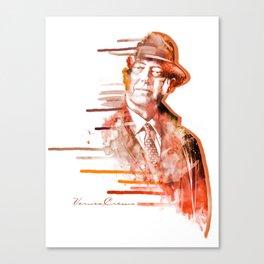 The Blacklist - Raymond Reddington Canvas Print