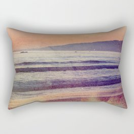 Searching for the Ocean's Serenity Rectangular Pillow