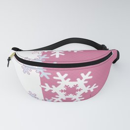New year , snowflakes Fanny Pack