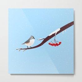AFE Bird on a branch Metal Print